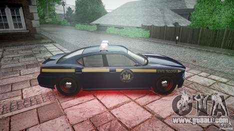 New York State Police Buffalo for GTA 4 inner view