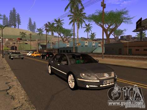 Volkswagen Phaeton W12 for GTA San Andreas side view