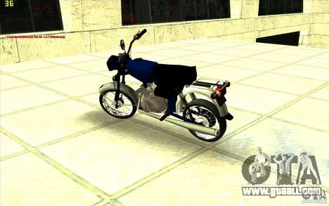 Moped: for GTA San Andreas right view