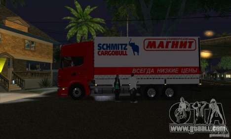 Scania R620 MAGNET for GTA San Andreas left view