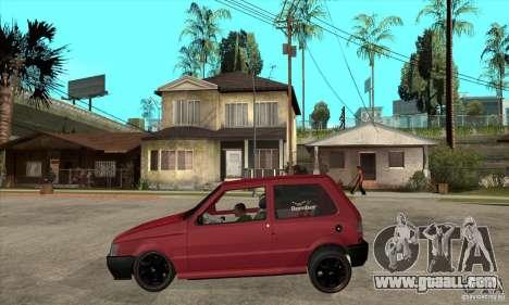 Fiat Uno Fire for GTA San Andreas left view