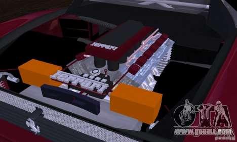 Ferrari 512 TR for GTA San Andreas interior
