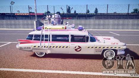 Ecto-1 (ghost hunters) Final for GTA 4 side view