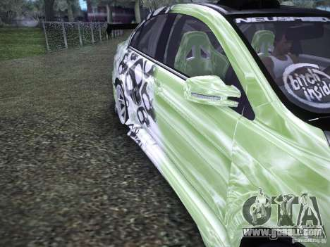 Mitsubishi Lancer Evolution X - Tuning for GTA San Andreas inner view