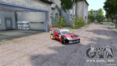 Subaru Impreza WRX STI RALLYCROSS Eibach Springs for GTA 4 right view