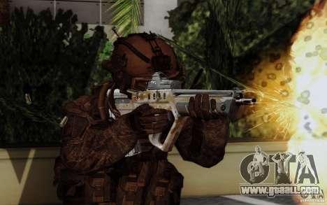 Tavor Tar-21 Steeldigital for GTA San Andreas second screenshot