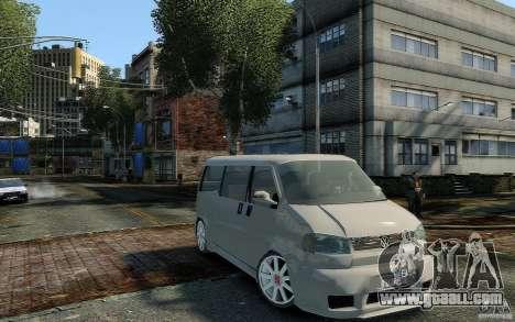 Volkswagen Transporter T4 for GTA 4 right view