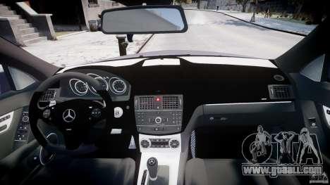 Mercedes-Benz C180 CGi Classic Special 2009 for GTA 4 upper view
