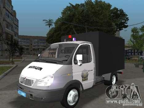 GAZ 3302 Police for GTA San Andreas