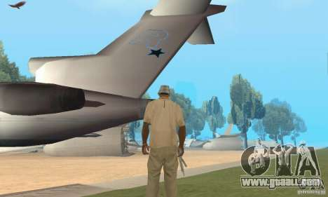Base of CJ mod for GTA San Andreas forth screenshot