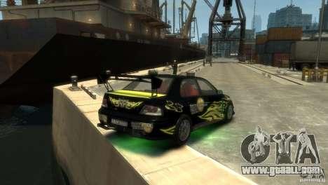 Mitsubishi EVO IX for GTA 4 right view