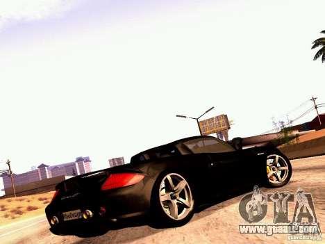Porsche Carrera GT for GTA San Andreas left view