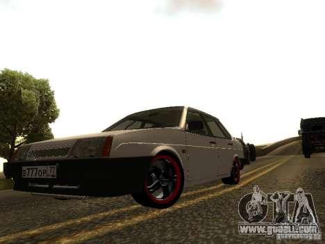 VAZ 21099 v. 2 for GTA San Andreas left view