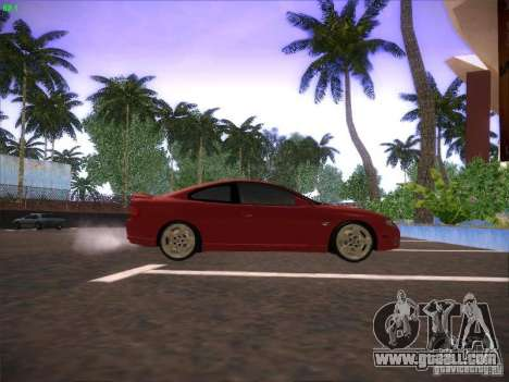 Pontiac FE GTO for GTA San Andreas back left view