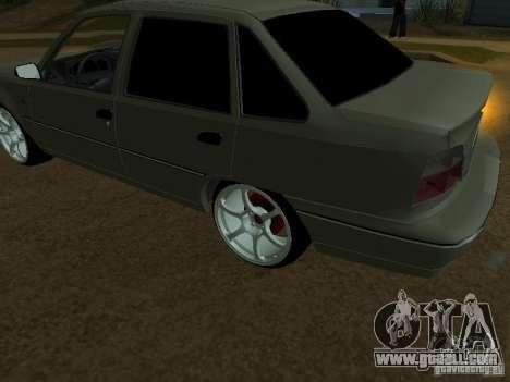 Daewoo Nexia for GTA San Andreas side view