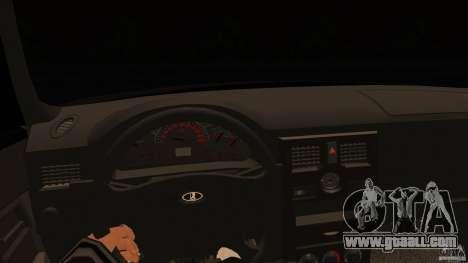 VAZ-2170 for GTA San Andreas back left view
