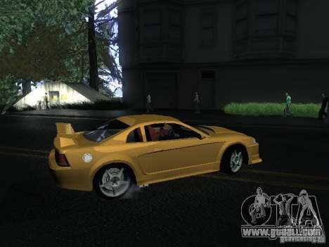 Ford Mustang SVT Cobra for GTA San Andreas back left view