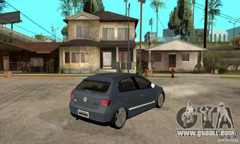 Volkswagen Gol G5 for GTA San Andreas right view