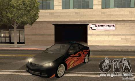 Acura RSX New for GTA San Andreas side view