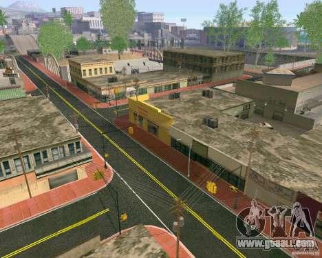 New Textures Of Los Santos for GTA San Andreas forth screenshot