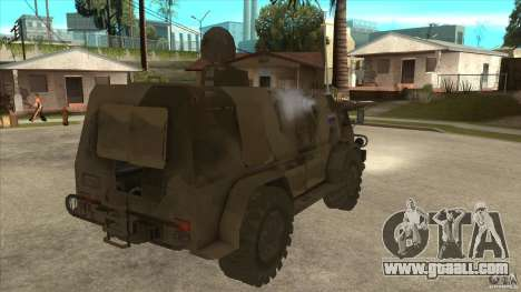 GAZ 39371 Vodnik for GTA San Andreas right view