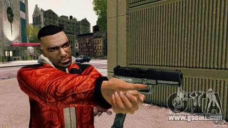 Glock 18 Akimbo (black/grey) for GTA 4 third screenshot