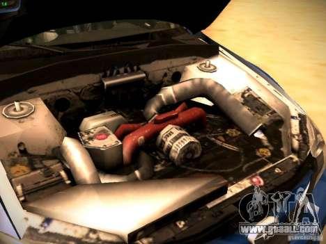Subaru impreza Tarmac Rally for GTA San Andreas inner view