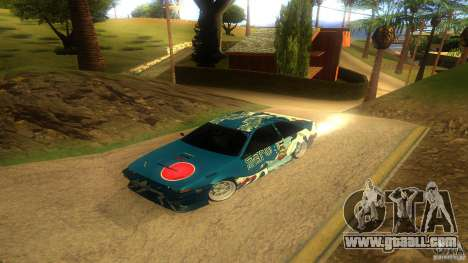 Toyota AE86 Coupe - Final for GTA San Andreas inner view