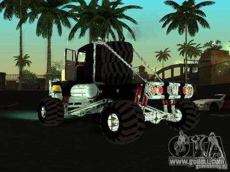 Kenworth W900 Monster for GTA San Andreas left view