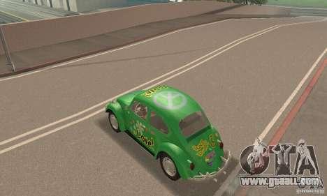 Volkswagen Beetle 1963 for GTA San Andreas interior