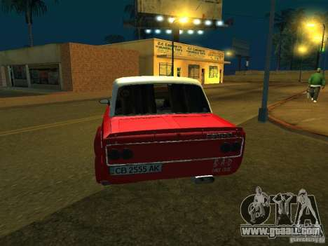 VAZ 2103 for GTA San Andreas back view