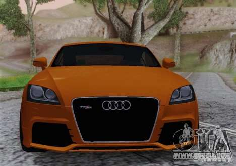 Audi TT-RS Coupe for GTA San Andreas right view