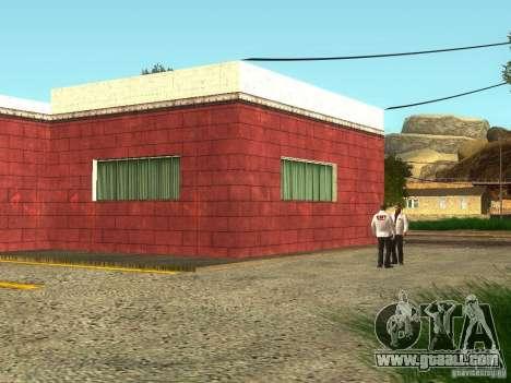 Renewal of the hospital at Fort Carson for GTA San Andreas second screenshot