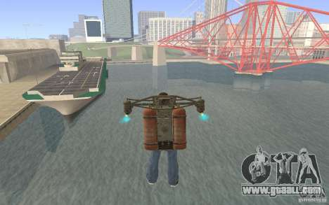 Jetpack in the style of the USSR for GTA San Andreas third screenshot