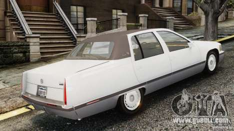 Cadillac Fleetwood 1993 for GTA 4 left view