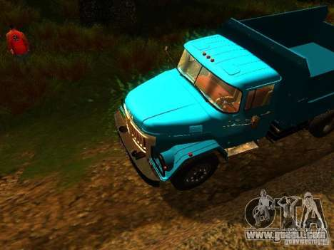 ZIL 131 Cupid for GTA San Andreas inner view