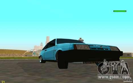 VAZ 2108 for GTA San Andreas back left view