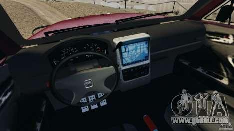 Dodge Ram 2500 Army 1994 v1.1 for GTA 4 inner view