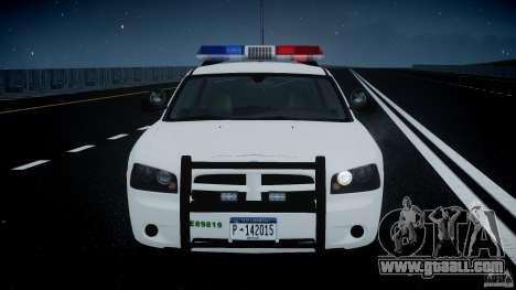 Dodge Charger US Border Patrol CHGR-V2.1M [ELS] for GTA 4 upper view