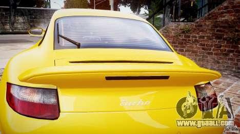 Porsche 911 (997) Turbo v1.0 for GTA 4 side view