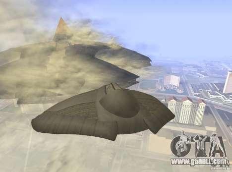 Death Glider for GTA San Andreas right view