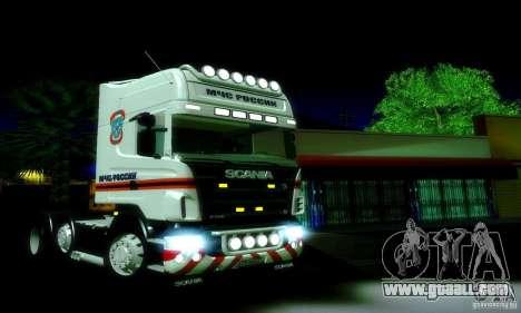 Scania R620 Emercom Of Russia for GTA San Andreas left view