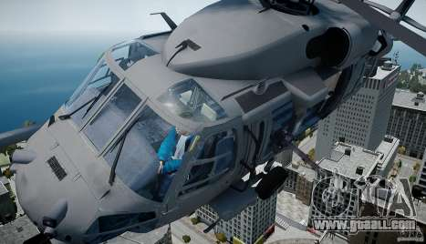 HH-60G Pavehawk for GTA 4 back left view