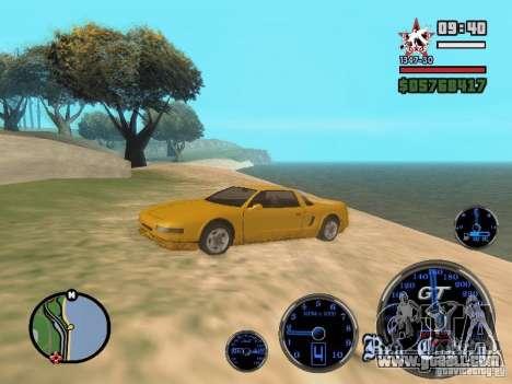 Speedometer GT for GTA San Andreas third screenshot