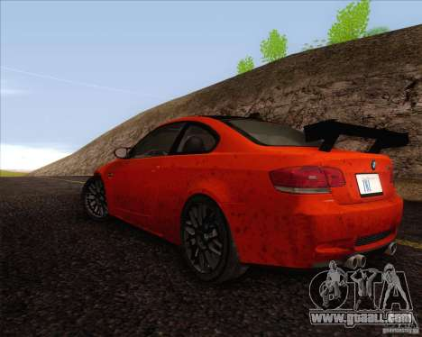 BMW M3 GT-S for GTA San Andreas right view
