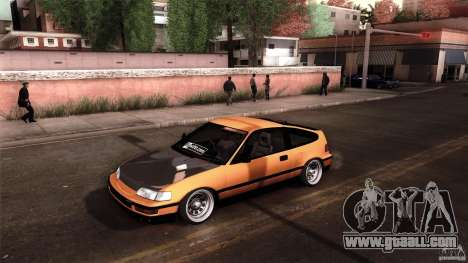Honda CRX JDM for GTA San Andreas