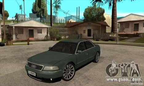 Audi A8 Long 6.0 2000 for GTA San Andreas