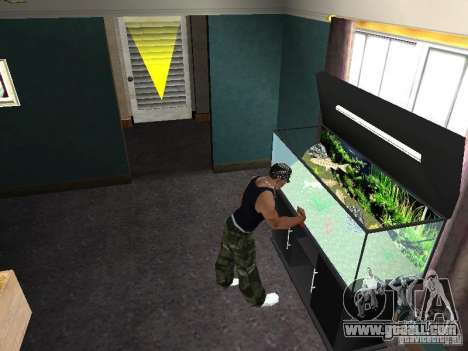 Aquarium for GTA San Andreas seventh screenshot