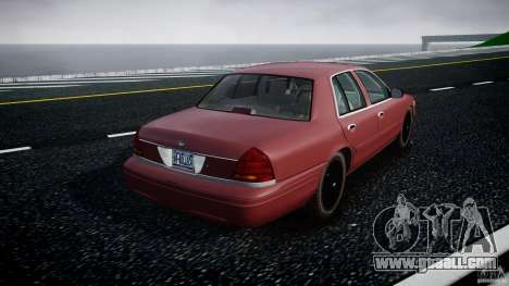 Ford Crown Victoria 2003 v.2 Civil for GTA 4 side view