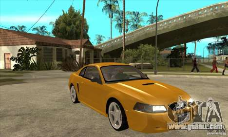 Ford Mustang GT 1999 - Stock for GTA San Andreas back view